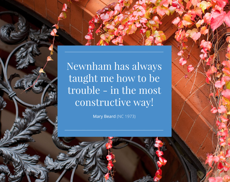 Windmill Creative | Newnham College | Website Design